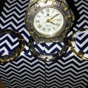 Dejuno woman's mid size watch needs battery